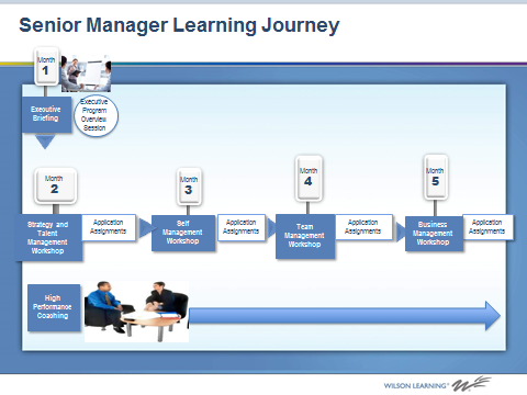 Senior Manager Learning Journey